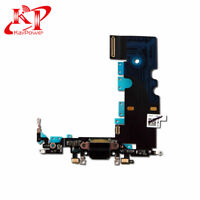 New OEM Apple iPhone 8 Charging Port Dock Connector Flex Cable Black Replacement