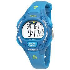 Timex Ironman Blue Resin Ladies Watch T5K757