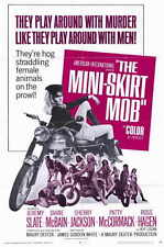 THE MINI SKIRT MOB Movie POSTER 27x40 Jeremy Slate Diane McBain Sherry Jackson