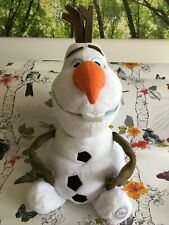 Large Stamped Disney Store Olaf The Snowman Frozen Soft Toy