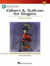 Gilbert & Sullivan for Singers: The Vocal Library Baritone/Bass Bk with online a