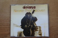 Delays ‎– Nearer Than Heaven, Rough Trade ‎CD Single, 2004