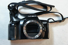 Minolta MAXXUM 3000i 35mm Photography Camera BODY ONLY