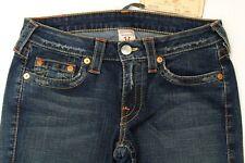 True Religion Bobby Women's Jeans Stretch Straight Leg Dark Wash Size 30