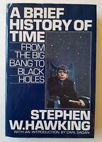 A Brief History Of Time by Stephen Hawking, Bantam, 1st Print, 2nd State DJ