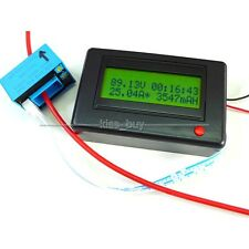 DC 120V 300A Bluetooth Digital ammeter volt power meter Timer battery Monitor