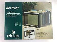 Eldon Letterlegal Desktop Hanging File Frame Hot Rack Plastic Black 16861 Usa