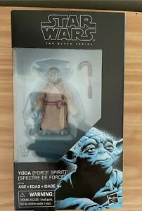 Star Wars Black Series 6-Inch Action Figure - Yoda (Force Spirit)