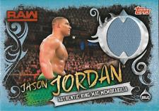 Jason Jordan Topps WWE Slam Attax live Ring Mat Relic Memorabilia RMJC