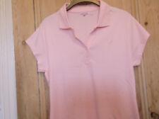 NEW Kangol womens pink polo shirt.size 16.