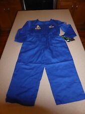 NEW ALPHA Industries Nasa Astronaut Suit Kids Child Space Jumpsuit Coveralls 4T