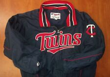 Majestic MLB Minnesota Twins Baseball Authentic Stitched Dugout Jacket L
