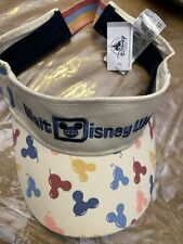 Nwt! Disney Parks Walt Disney World Mickey Mouse Visor for Adults by Junk Food