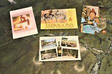 4 VECCHIE CARTOLINE CHARTREUSE DALI' e TARRAGONA   - Chartreuse souvenir de Voir