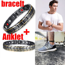 Men Health Magnetic Therapy Energy Bracelet Wrist Chain Healing Barefoot Anklet