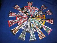 "Pick Your Team: RARE Vintage 1990's MLB 4"" X 9"" Mini Pennant Flag"