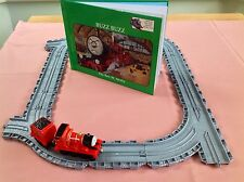 TAKE ALONG THOMAS & FRIENDS DIECAST JAMES TRAIN STORYBOOK & TRACK PLAYSET BUNDLE
