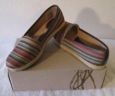 NIB BOC Franki Womens Espadrille Flats Shoes 9 Dark Brown MSRP$70