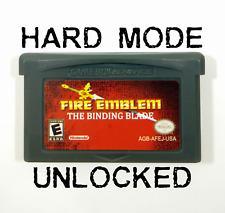 Fire Emblem 6: The Binding Blade ENGLISH GBA Gameboy Advance Sword of Seals