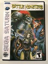 Battle Monsters - Sega Saturn - Replacement Case - No Game