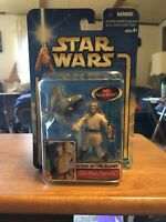 Star Wars Attack of The Clones Obi-Wan Kenobi Coruscant Chase Action Figure