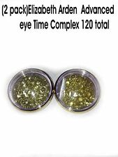 Lot (2) 60 Caps Elizabeth Arden Ceramide Eyes Time Complex Capsules-- Total 120