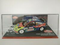 1/43 FORD FOCUS RS WRC 07 HIRVONEN 2008 RALLYE IXO RALLY CAR ESCALA DIECAST