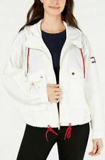 NEW Tommy Hilfiger Women's Oversized Drawstring-Hem Jacket White 2X - NWT
