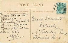 Mrs Schute. 15 Belmont Terrace, Circular Road North, Dublin. 1903.    RJ.739