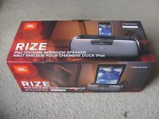 JBL OnBeat RIZE Docking Bedroom Speaker Station Alarm Clock for iPad/iPod/iPhone