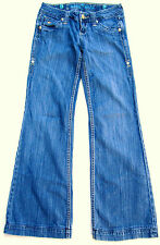 "Sang Real ""Only the Chosen"" Blue Denim Jeans Size 26"