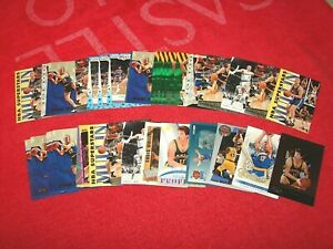 CHRIS MULLIN WARRIORS PACERS HOF LOT OF 36 INSERTS ONLY (18-64)