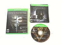Dishonored 2: Limited Edition (Microsoft Xbox One read description