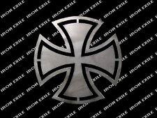 Iron Cross #1 Hot Rod Motorcycle Biker Rat Rod WWII Emblem Badge Metal Gusset