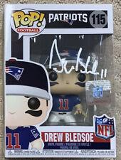 Drew Bledsoe New England Patriots Autographed Funko Pop! JSA