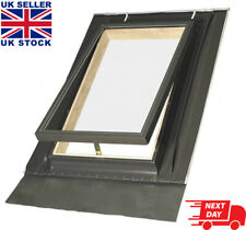 OPTILOOK Skylight Roof Access Window 46x55cm + Flashing Top Hung Loft Rooflight