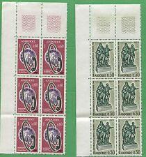 10 Sets of 1967 Andorra Stamps 173 & 178 Cat Value $33  Sculpture & Phone