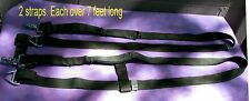 2 Army straps w fittings,AIRSAVE survival vest each 7 feet long  (LOC = LKR 1)
