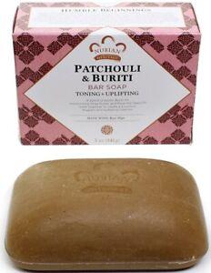 "Nubian Heritage "" Warehouse Box Damaged"" - Patchouli & Buriti Soap  ****"