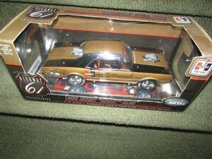 HURST HAIRY OLDS 1966 442 NHRA Drag Exhibition 1 18 Diecast Car Model 50089