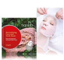 10 x TianDe Pro Comfort Lingzhi Revitalizing Face and Neck Mask, 1 pc.