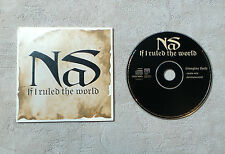 "CD AUDIO MUSIQUE / NAS ""IF I RULED THE WORLD (IMAGINE THAT)"" 2T 1996 CD SINGLE"