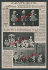 Käthe Kruse Puppe Spielzeug Diorama Engel Christkind Wäscherinnen Bad Kösen 1914
