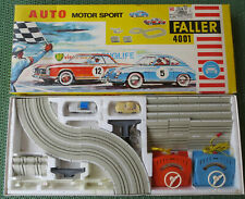Faller 4001 Complete Package with Mercedes 230 and Porsche 356