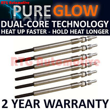 6x Diesel Heater Glow Plugs For Citroen Jaguar Land Rover Peugeot 2.7 HDI