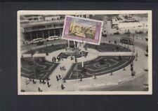 Turkey Old PPC IstanbulTaksim Abidesi circ Via Air Mail 1953 to Bremen Germany