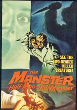 The Manster 1959 Peter Dyneley, Jane Hylton  Horror, Sci-Fi DVD