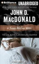 Travis Mcgee Girl in the Plain Brown Wrapper John D MacDonald 2013 CD Unabridged