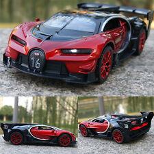 Bugatti Vision Gran Turismo Concept Model Car 1:32 Sound&Light Alloy Diecast