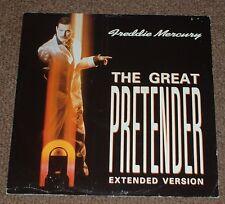 """FREDDIE MERCURY the great pretender (extended version) 87 UK FACTORY SAMPLE 12"""""""